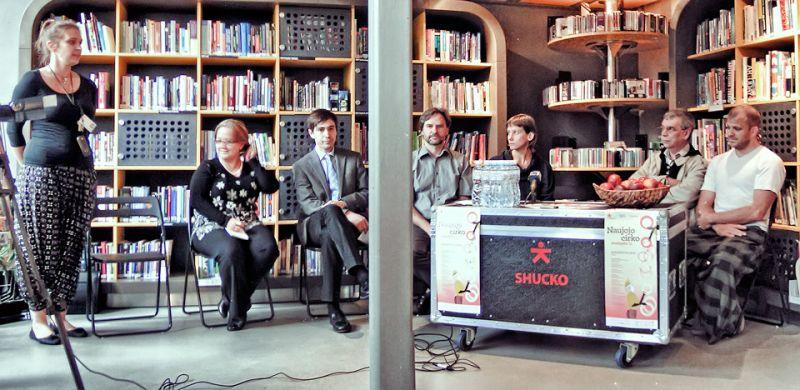 spaudos konferencija