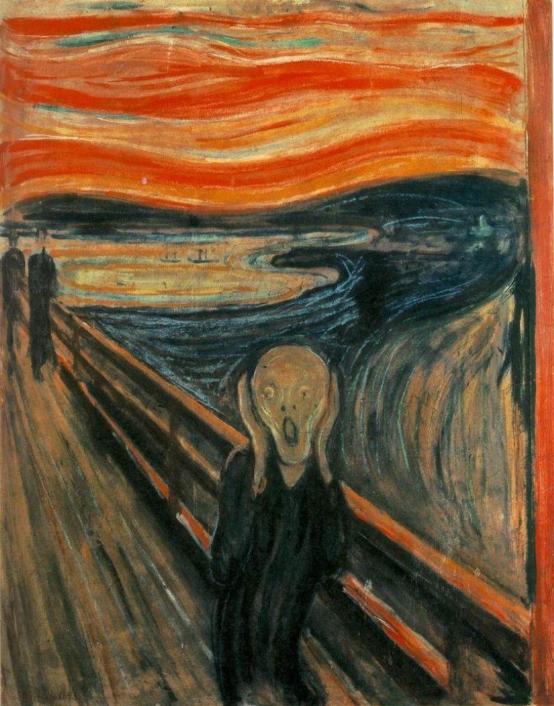 """Edvard Munch """"Šauksmas"""""""